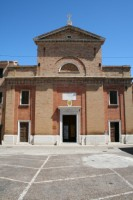 Vista Anteriore della Chiesa di Santa Croce